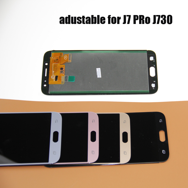J7 2017 LCD สำหรับ Samsung Galaxy J730 สำหรับ Samsung J7 PRO J730 J730F จอแสดงผล LCD Touch Screen Digitizer Assembly title=