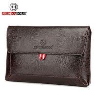 Famous Brand Wallet Men Carteras Clutch Bag Genuine Leather Purse Carteras Mujer Men S Handy Bags