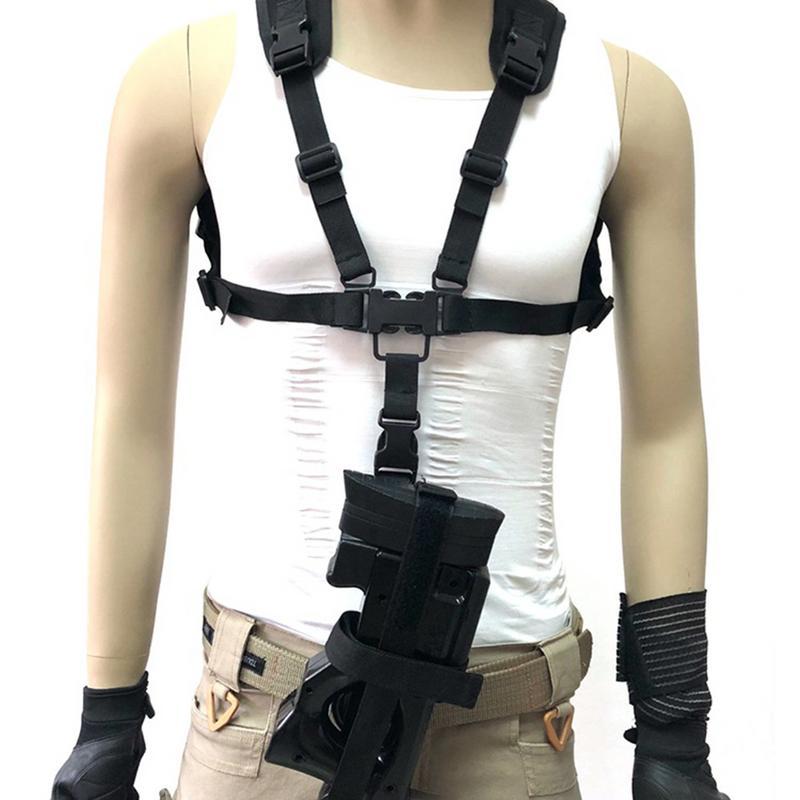 Chaleco táctico P90 correa de cuerda de caza cuerda de seguridad Sling pecho plataforma