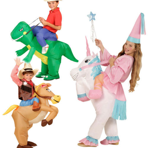 Carnival Purim Carnival costume for kids Animal Costumes Inflatable Dinosaur Cowboy Costume inflatable cow suit