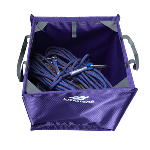 Image 5 - Bolsa de almacenaje para cables plegable de nailon, multiherramienta portátil para exteriores, escalada en roca para explorar, 39x39x39cm, 3 colores