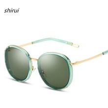 2019 New Round Sunglasses For Men Women Vintage Sun Glasses Retro Unisex Eyeglasses Female Mirror Oculos de Sol Feminino Shades