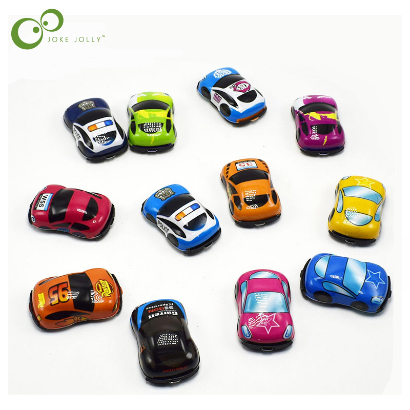 5pcs/lot Baby Toys Cute Plastic Pull Back Cars Toy Cars ...