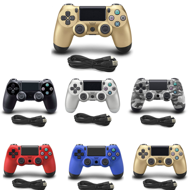 Wired Gamepad For PS4 Controller For Playstation 4 for Dualshock 4 Joystick Gamepads For PS4 Console For PS3 usb wired gamepad for playstation sony ps4 controller joystick joypad controle for pc win 7 8 10 for ps3 console with usb cable