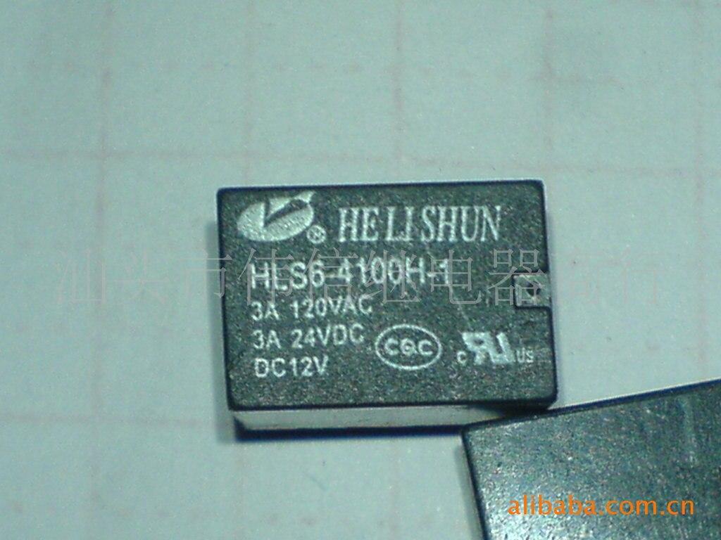 Реле HLS6-4100H-1 DC12V