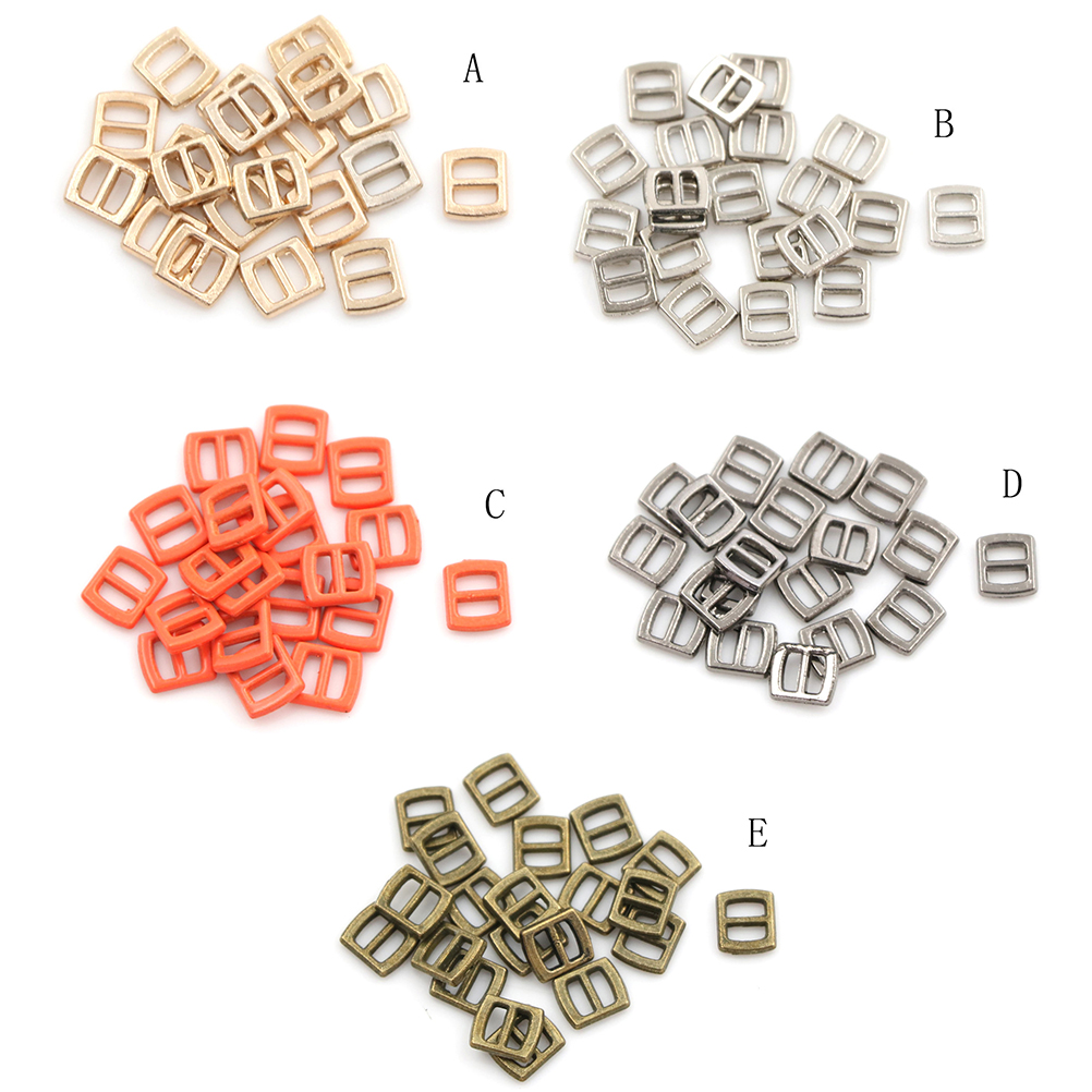 Newest 10pcs Mini Tri glide 3 mm ultra small belt buckle doll clothes buttons shoes buckle blyth doll clothing accessory-in Dolls from Toys & Hobbies on AliExpress