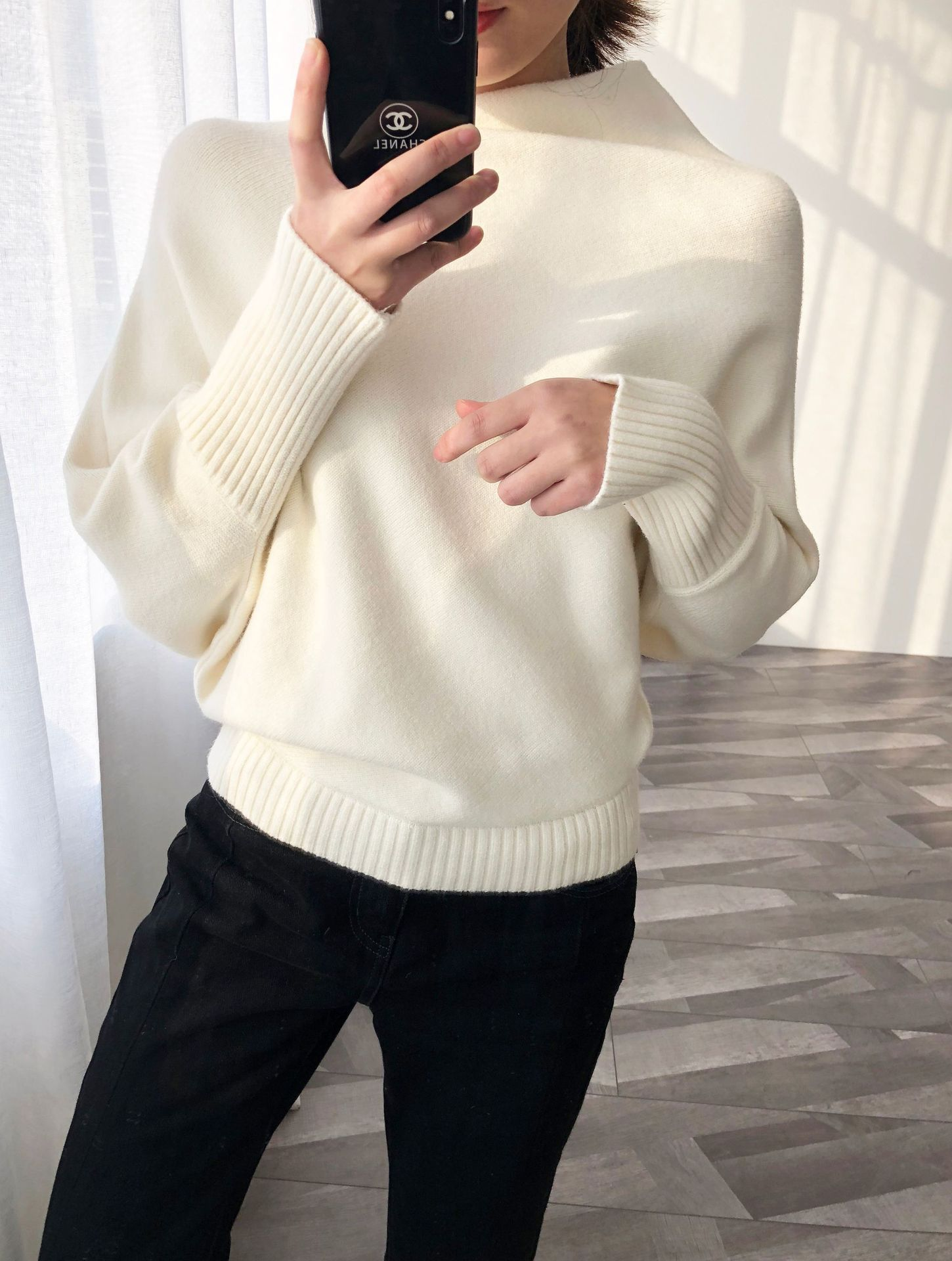 Autumn Winter Vintage Irregular Sweater Women Batwing Thicken Pullover Loose Sweater Large Size Knitted Female Jumpers SA148S40(China)