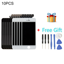 5 PCS Black + 5 PCS White iPartsBuy 3 in 1 for iPhone 5 (LCD + Frame + Touch Pad + Free Gift ) Digitizer Assembly