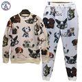 Mr.1991INC 3d tracksuits for men/women joggers and sweatshirts suits print dogs hoodies long pant sweatpant Z23