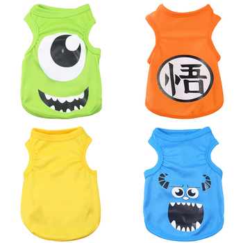 Summer Vest T-Shirt Cartoon Clothes
