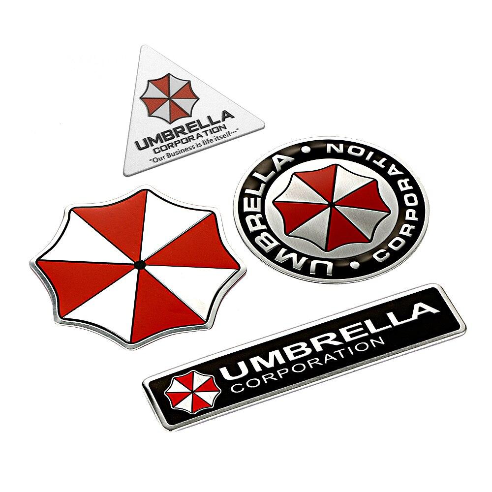っcar Styling 3d ⑧ Aluminum Aluminum Alloy Umbrella