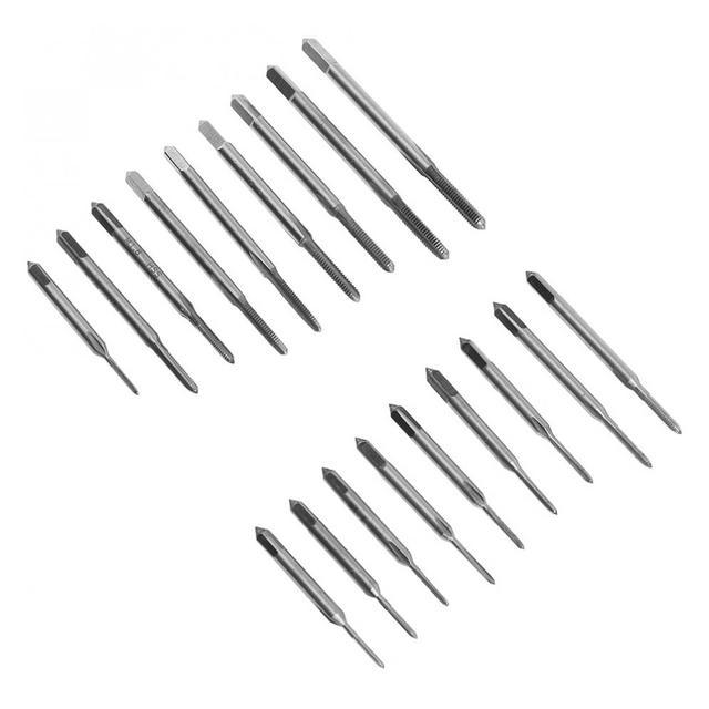 30 sztuk/partia hurtownie precyzyjne metryczne NC śruba dotknij i Die gwint zewnętrzny gwintowania zestaw narzędzi ręcznych z HSS śruby korki krany