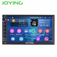 JOYING Android 6.0 Intel Car Entertainment System Hurtownie Pokój 2 Din Car Audio Radio Odtwarzacz Multimedialny Radioodtwarzacz Stereo