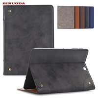 High Quality Retro PU Leather Stand Smart Case For Samsung Galaxy Tab S2 9 7 SM