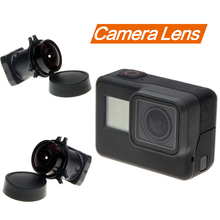 лучшая цена Gopro 7/6/5 Lens 170 degree wide angle lens Replacement Camera Lens for Gopro Hero 7/6/5 Black Go Pro action camera