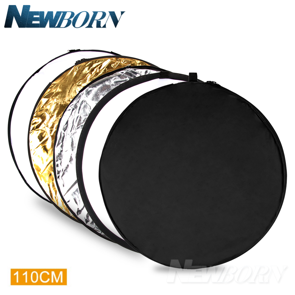 Bolsa 5IN1 100*150CM Difusor de Luz Multi Plegable Reflector Reflectante Disc
