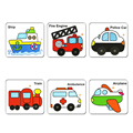 Children Double-side Wooden  Water Drawing Card Board with Water Pen Kids Baby Learning Jigsaw Puzzle Developmental Toy