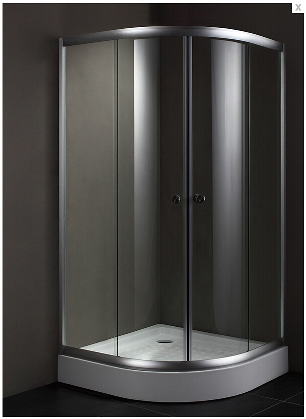 ✓2016 hot sales wholesale clear tempered glass shower screens with ...