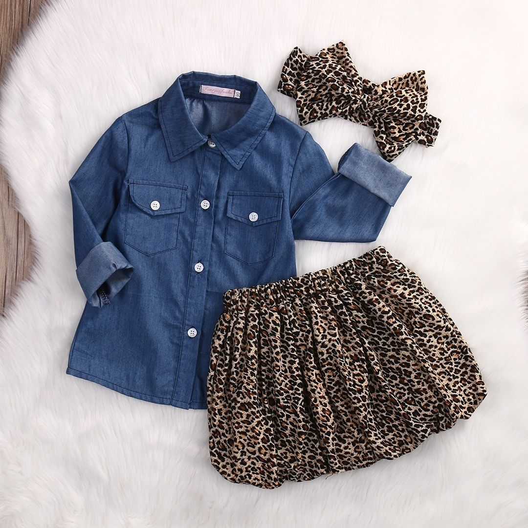 3PC-Toddler-Baby-Girls-Clothing-Denim-T-shirt-Tops-Long-Sleeve-Leopard-skirt-Set-Kids-Clothes-Girl-Outfit-2