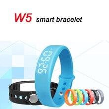 Горячие W5 SmartBand тонкий умный Браслет USB наручные 3D Шагомер сна Фитнес спортивные наручные PK U8 Xiaomi Mi band 2 dz09 gt08