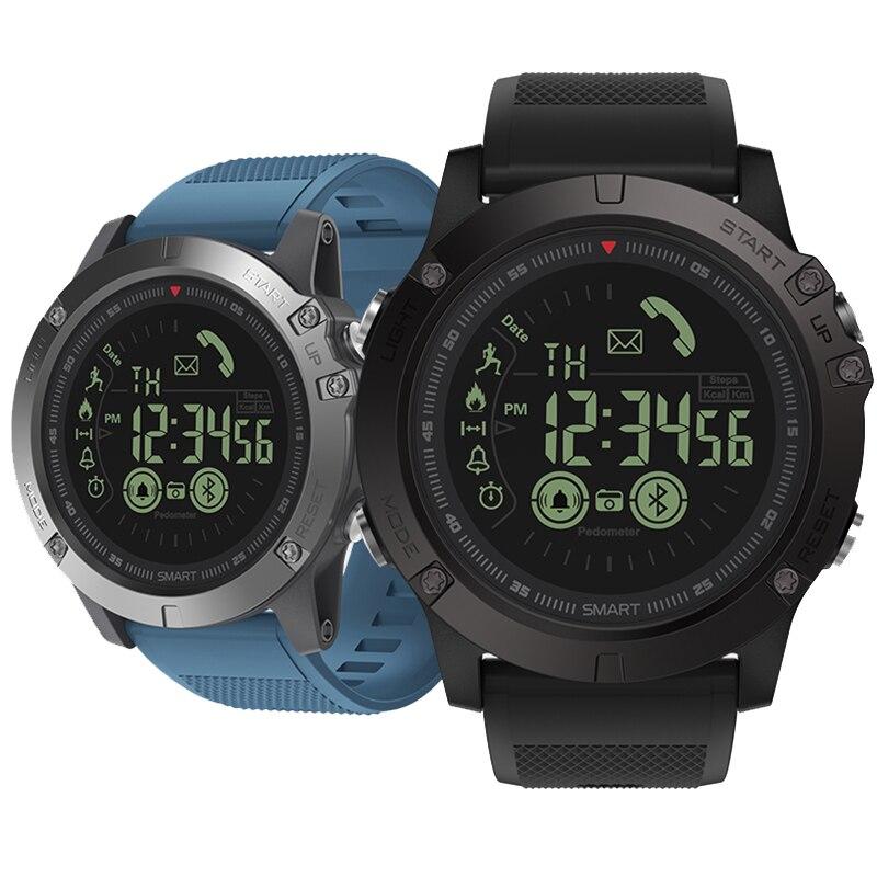 Bluetooth спортивные часы 33-month Standby Time Smartwatch 24 h All-Weather Monitor умные часы для IOS Android samsung смартфоны