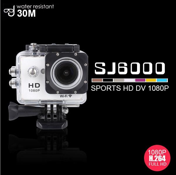 Cámara de Acción WIFI 12MP Full HD cámara del casco de 1080 P full HD 30FPS 2.0