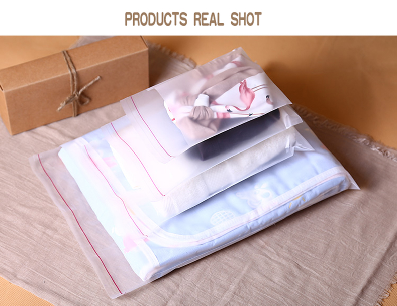 1 pe,Scrub,Matte,Frosted ,packaging,storage,self-adhesive bag,seal,cosmetics,mask paper,magazine,book,jewelry,towel,socks,panties,underwear,card,clothes,hat,shoes (4)