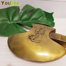 Bronze axe sculpture copper blessing home decoration ornaments