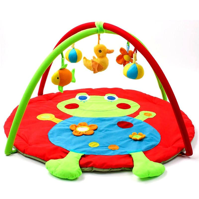 Fun grenouille dessin animé bébé jouer tapis 0-12 mois bébé jouet ramper Pad enfants jeu jouer Gym couverture