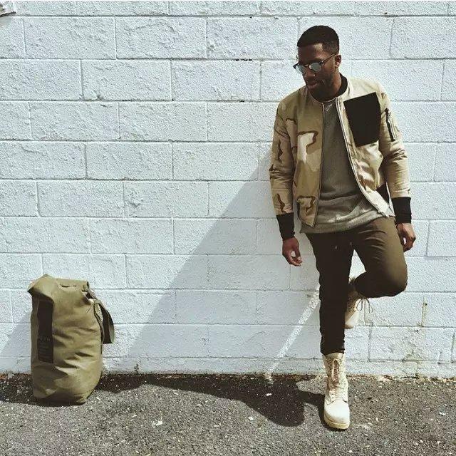 2017 Men Camo Bomber Jacket Camouflage Mens Camo Jacket Bomber Desert Beige Military Campera de Vuelo Ma1 Pilot Jacket Mens