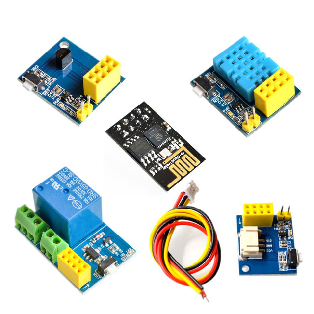 ESP8266 5 V релейный модуль Wi-Fi вещи умный дом переключатель с дистанционным управлением с помощью приложения на телефоне DHT11 Температура влажности ESP-01 ESP-01S