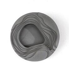 Zement beton geometrie high-end-geschenke silikonform Kunst aschenbecher gericht büro