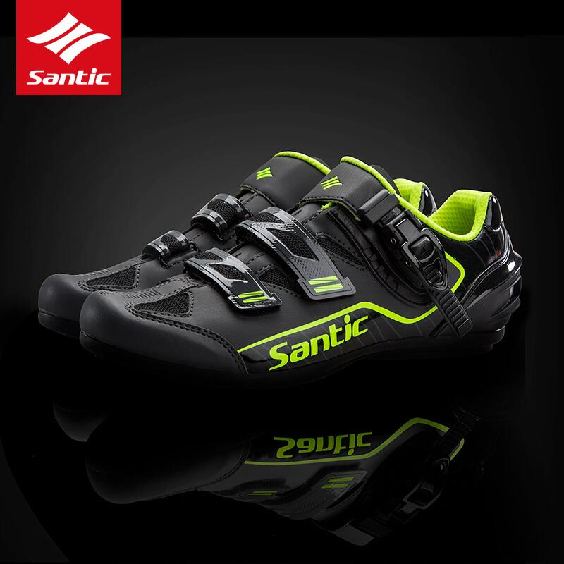 Santic 2019 new lock-free cycling shoes Breathable Outdoor Sport Professional Road Bicycle Shoes Non-Slip No-Lock EquipmentSantic 2019 new lock-free cycling shoes Breathable Outdoor Sport Professional Road Bicycle Shoes Non-Slip No-Lock Equipment