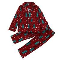 Muqgewファミリークリスマスパジャマクリスマスファミリールックkerstパジャマパジャマクリスマスセーターナイトウェアツーピースセクシー-3piecesセッ