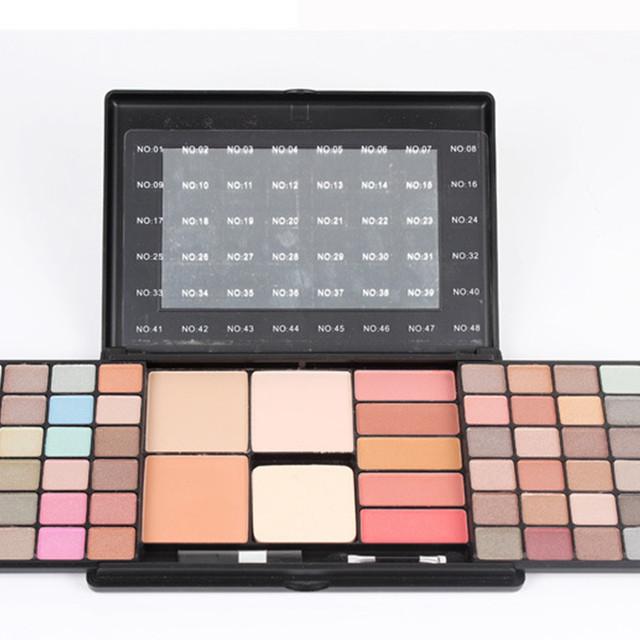 48 a Cor Terra Maquiagem Da Paleta Da Sombra Rosto Blush Em Pó Shimmer Matte Sombra Maquiagem Cosméticos Set Kit
