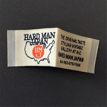 Custom Woven Labels Clothing Main labels Garment tags custom soft quality woven labels woven tags