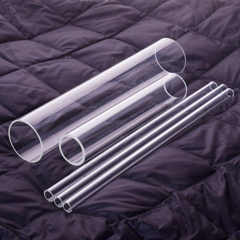 1 Pcs High Borosilicate Glass Tube,O.D. 90mm,Thk. 3mm/5mm,L. 200mm/250mm/300mm,High Temperature Resistant Glass Tube