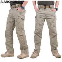 2019 IX9 II Uomini Militar Pantaloni Tattici di Combattimento SWAT Esercito Militare Pantaloni Cargo Mens All'aperto Pantaloni casual Pantaloni di Cotone