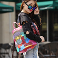 DLKLUO! Vogue Star! 2016 backpacks women backpack school bags students backpack ladies women's travel bags leather package D-692