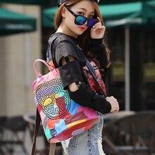 DLKLUO! Vogue Stern! 2016 rucksäcke frauen rucksack schultaschen studenten rucksack damen frauen reisetaschen leder paket D-692