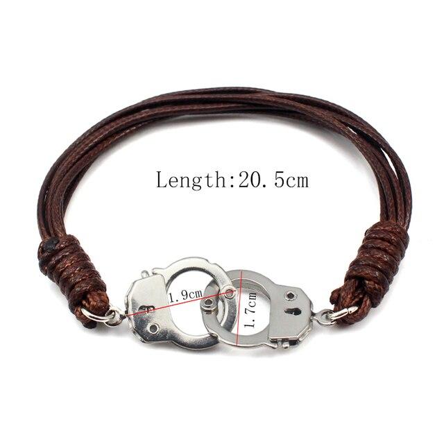 COUYA Rope Chain Handcuff...