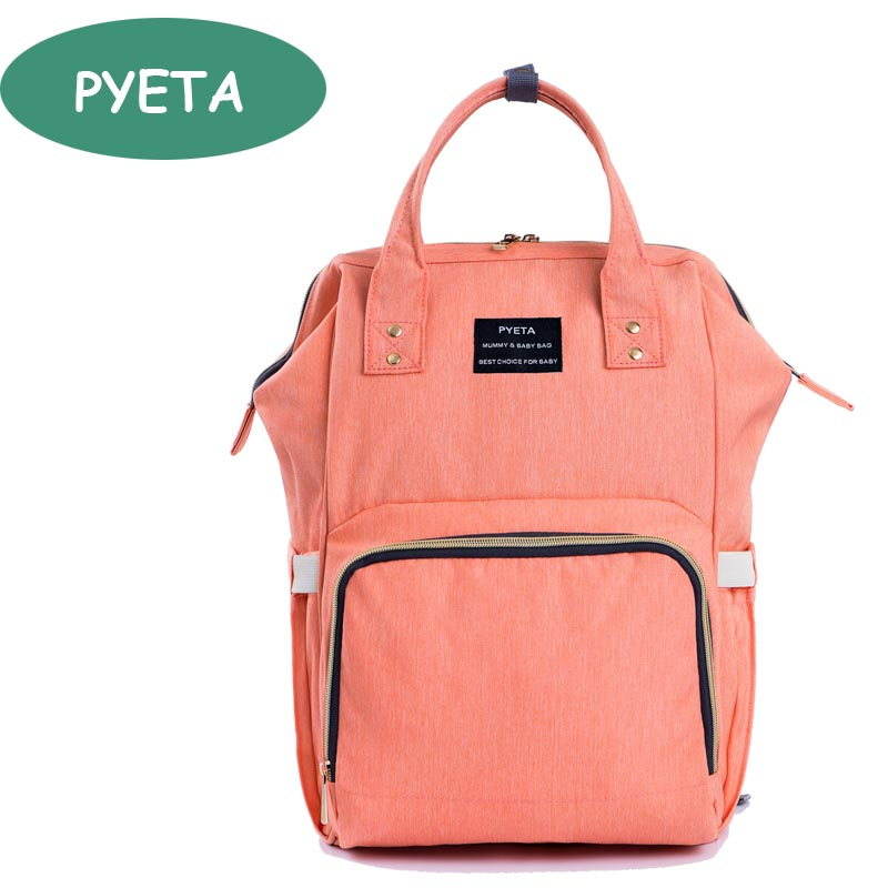 PYETA Fashion Mummy Maternity Nappy Bag Brand Large Capacity Baby Bag Travel Backpack Desiger Nursing Bag