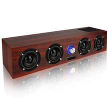 Altavoz inalámbrico Bluetooth de 20 W, altavoz portátil de columna, caja boom, TF, FM, Radio Aux, Subwoofer, tv, barra de sonido para computadora, caja de sonido