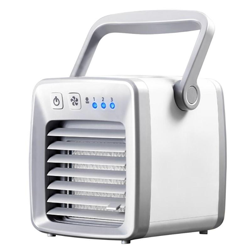 Air Cooler Fan Small Air Conditioning Appliances Summer Mini Fans Portable Conditioner Fan Home Office Personal Space summer portable air conditioning mini fan for home laptop usb hand ventilator standing air cooler small table fan mini ceiling fans