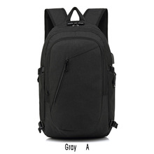 Man backpack Swiss Backpack Anti-theft Waterproof Multifunction USB Charging Casual Laptop Mochila