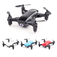 Foldable Mini Drone With/Without Camera RC Helicopter With Hold Mode Quadcopter Headless Altitude Toys For Kid