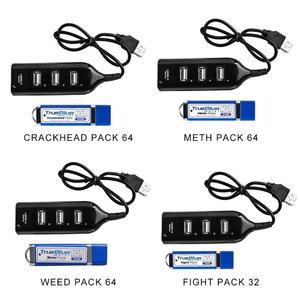 Image 1 - صحيح الأزرق حزمة فرقعة صغيرة 32G/64G حزمة القتال لملحقات بلاي ستيشن الكلاسيكية مع محور USB صغير