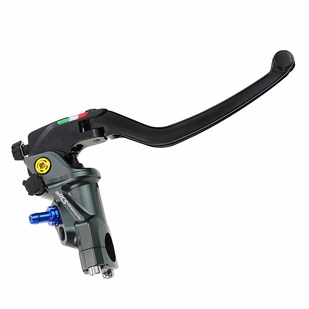 19 Rcs Motorcycle Brake Master Cylinder Radial Brake 22mm Universal For Honda Yamaha Kawasaki Suzuki
