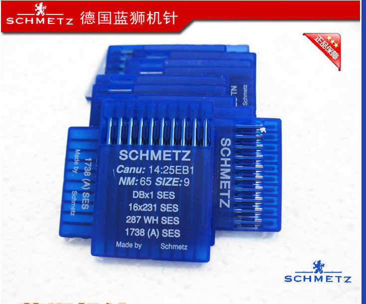 SCHMETS Sewing Needles,DBx1 SES,16x231 SES,20Pcs(2 Packs)/Lot,Industrial Lockstitch Sewing Machine Parts,For Jack,Juki,Singer...