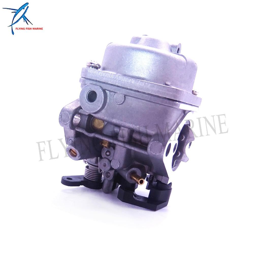 Image 2 - 3JE 03200 0 3JE032000 3JE032000M Outboard Motor Carburetor Assy  for Tohatsu Nissan 4 stroke 6HP MFS6C NFS6C Boat EngineBoat Engine   -